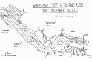 The WLD Course has remainded the same for more than 30 years - this map shows the 'old clubhouse'